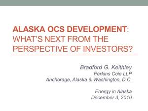 Alaska OCS Development (Dec 3)