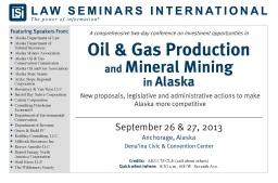 Investment in Alaska (6.7.2013)